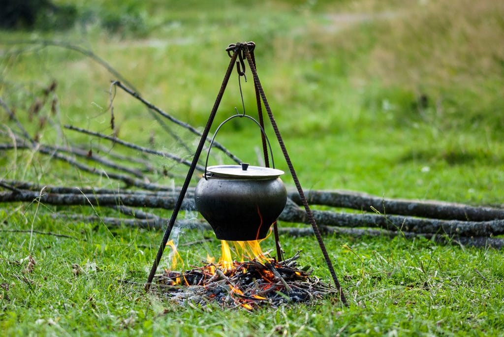Op de ACSI Freelife website staat meer tips voor koken op een kampvuur.