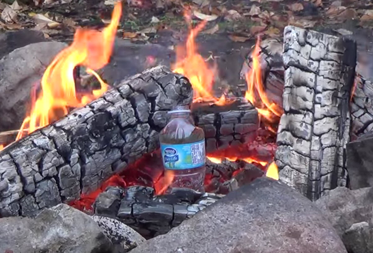 Heerlijke bruu™ koffie kan je zetten met water uit het vuur